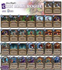 1000 ideas about hearthstone rogue on pinterest