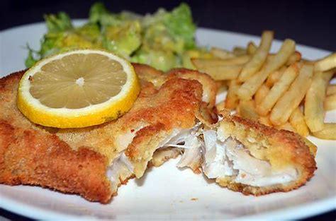 recette de cuisine avec du poisson recette de poisson pane par les petits plats du prince
