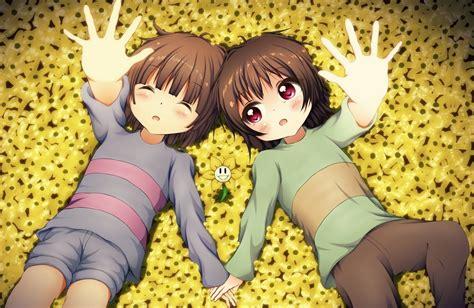 Undertale Anime Wallpaper - undertale chara flowey frisk anime wallpapers hd