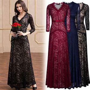 women39s formal cocktail evening party floral lace wedding With appropriate dress for evening wedding