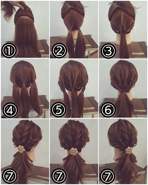 best 25 simple ponytail hairstyles ideas on pinterest