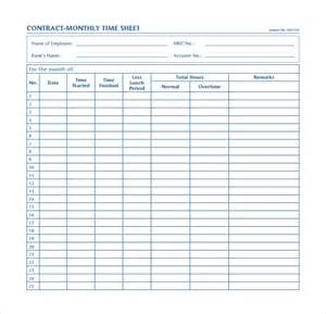 Hourly Log Sheet Template Monthly Sheet Calculator Templates 9 Free Documents In Pdf Word Excel