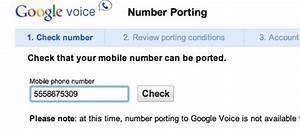 How to Port Your Mobile Phone Number to Google Voice ...