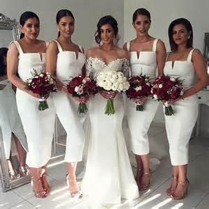 wedding and bridesmaid dresses 17 best ideas about white bridesmaid dresses on bridesmaid dresses cheap