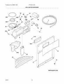 Parts For Frigidaire Ffhs2612ls4    Refrigerator