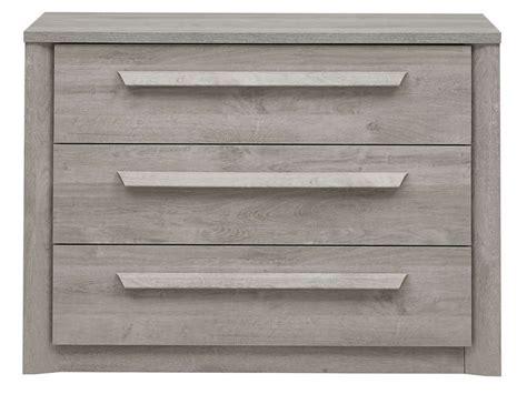 conforama fr chambre commode 3 tiroirs coloris chêne gris vente de