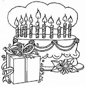 Dessin Gateau Anniversaire : 10 ans coloriage 10 ans en ligne gratuit a imprimer sur ~ Melissatoandfro.com Idées de Décoration