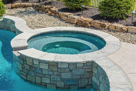 baker pool construction  st louis custom hot tubs spas