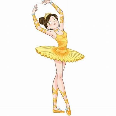 Ballerina Bailarina Amarilla Gialla Leostickers Stickers Adesivo