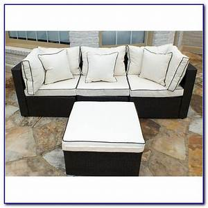 Wayfair outdoor furniture modern wicker sectionals patio for Wayfair garden furniture covers