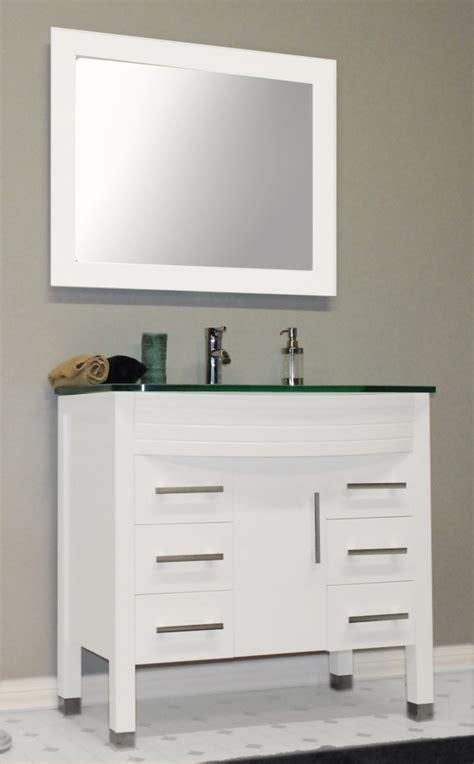 white single bathroom vanity cambridge 36 inch white single sink bathroom vanity set