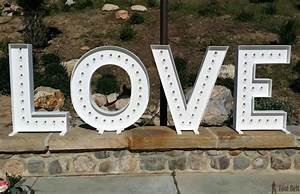 wood diy love marquee letters her tool belt With marquee house of letters