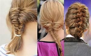 Coiffure Tresse Facile Cheveux Mi Long : coiffure tresse facile cheveux mi long ~ Melissatoandfro.com Idées de Décoration