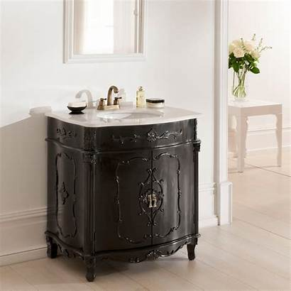 Vanity French Antique Unit Furniture Bathroom Units