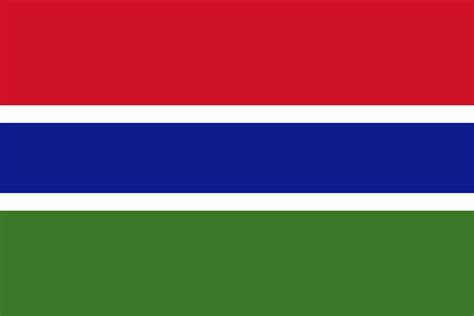 Gambia | Flaggen der Länder