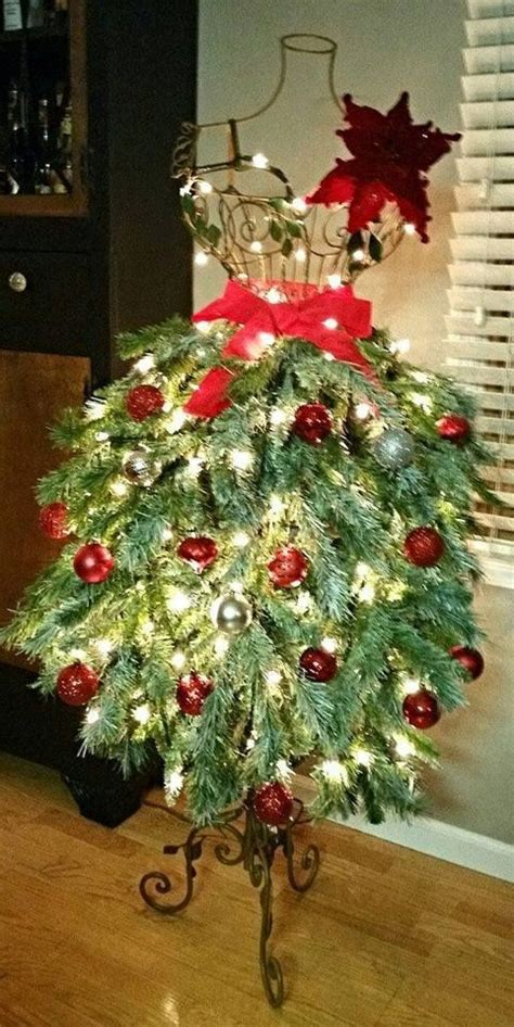 images  dress form christmas trees