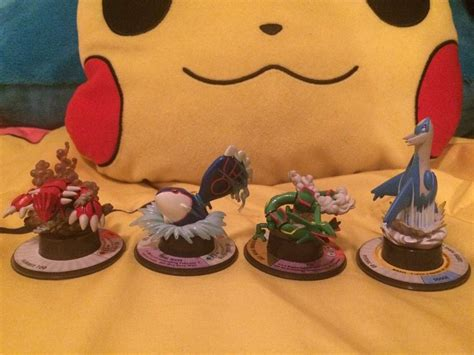 60 Pokemon Trading Figures Collection Update Pokmon Amino