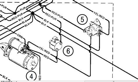 mercruiser wiring diagram for neutral safety on