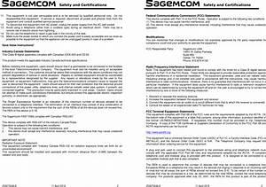 Sagemcom Broands Fast5566 Home Hub Fast 5566 User Manual