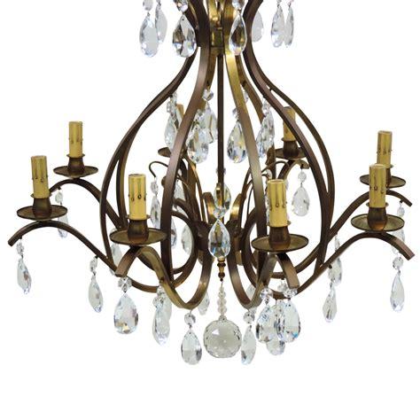 german chandeliers vintage 8 light w german chandelier brass from