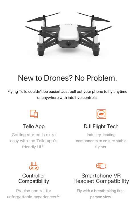 ryze robotics dji tello drone hd recording quadquadcopter