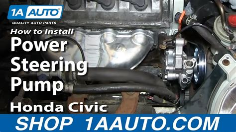 install replace power steering pump