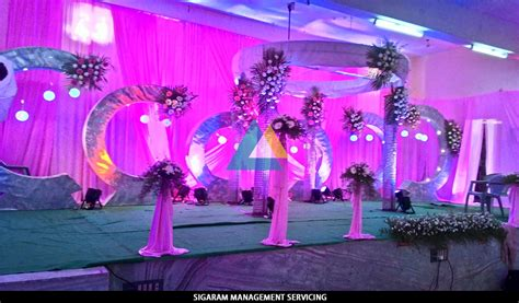 Wedding Reception Decorations by Wedding Reception Decoration At Tittagudi Tamilnadu