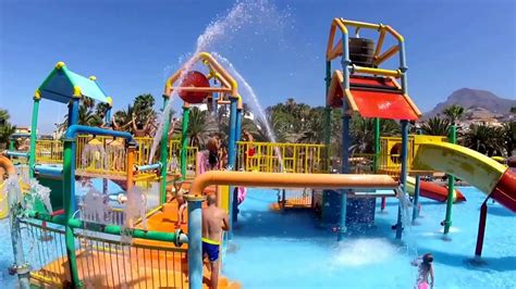 aqualand waterpark tenerife  youtube