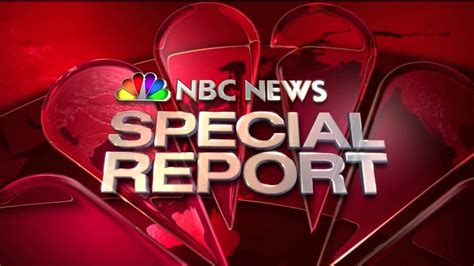 Nbc News Special Report Introoutro (20072017)(hd) Youtube