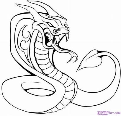 Tattoo Tattoos Cobra Draw Drawings Head Step