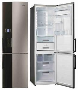 Lg kuhl gefrierkombination gb 7143 a2bz mit auto icemaker for Kühl gefrierkombination eiswürfelbereiter