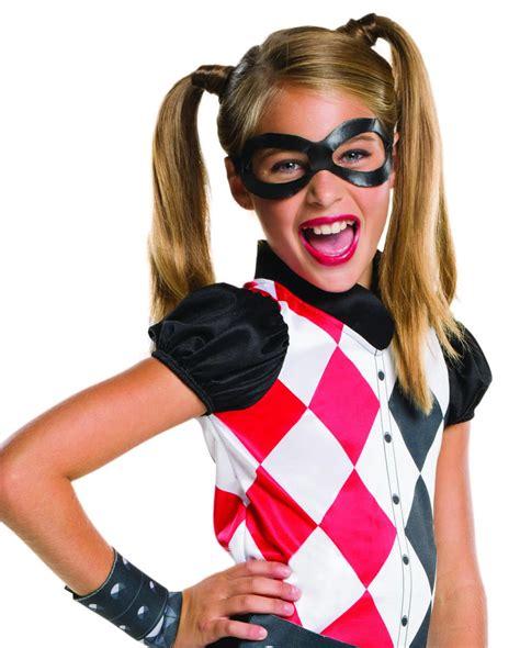 harley quinn kostüm kinder kinder kost 252 m harley quinn 4tlg lizenz kost 252 m karneval universe