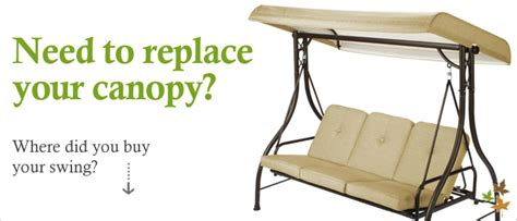 Hampton Bay Outdoor Furniture Covers by Replacement Swing Canopy Cover Garden Winds