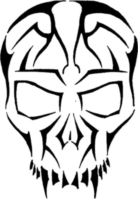 Calaveras con estilo tribal especiales para diseños o