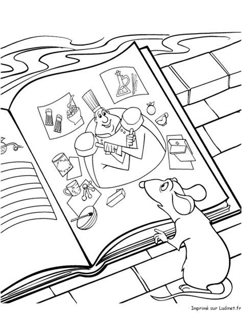 livre de cuisine gratuit en ligne le livre de cuisine est un coloriage de ratatouille
