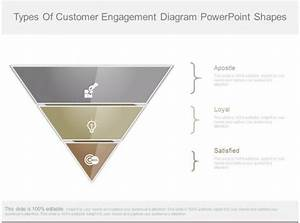 Types Of Customer Engagement Diagram Powerpoint Shapes