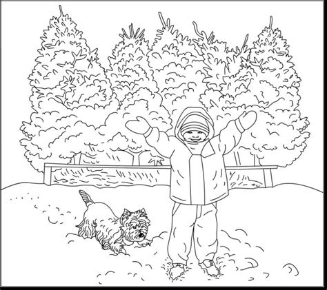 Winter Free Coloring Pages Winter Coloring Pages Coloring Pages