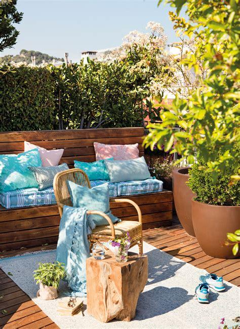 terrazas pequenas exteriores bien aprovechadas