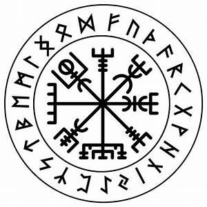 Nordische Symbole Und Ihre Bedeutung : wikinger symbole bedeutung schutz richtung vegvisir t ~ Frokenaadalensverden.com Haus und Dekorationen