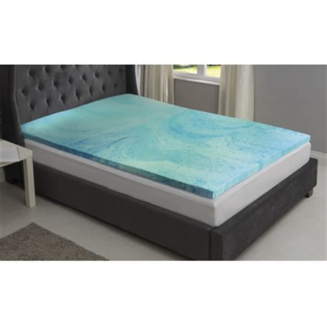cooling memory foam mattress topper starry cool gel memory foam mattress topper daily