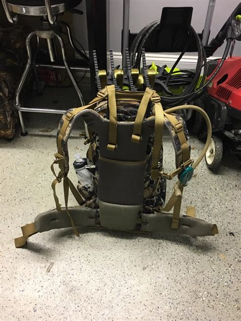 saddle hunting backpack thread official