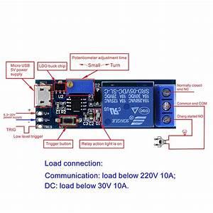 Smart Electronics 5v 30v Micro Usb Power Adjustable Delay