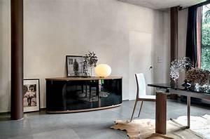Sideboard Für Esszimmer : sideboard aus holz mit gebogenen glast ren f r das esszimmer oder wohnzimmer geeignet idfdesign ~ Bigdaddyawards.com Haus und Dekorationen