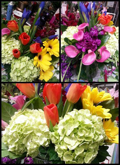 Colores brillantes de Primavera Hermosa combinacion de