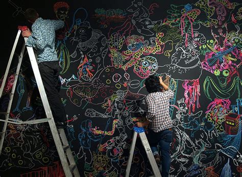ideas   chalkboard walls   rooms