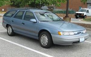 1992 Ford Taurus Wagon Bought This Used In White  Rusted