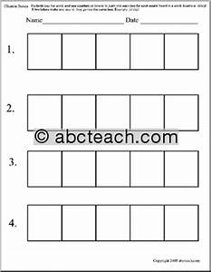 all worksheets elkonin boxes worksheets printable With elkonin boxes template
