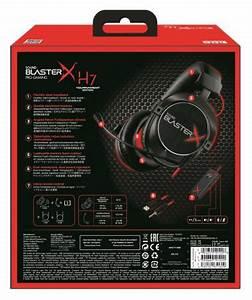 Creative Sound BlasterX H7 Tournament Edition: 7.1 ...