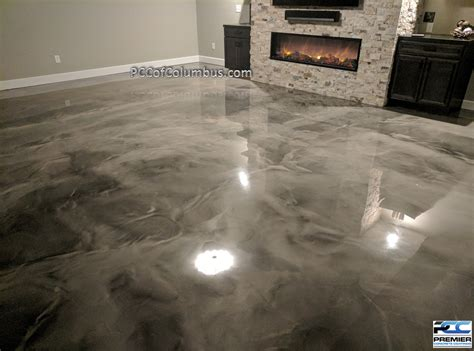 epoxy flooring columbus ohio metallic epoxy flooring pcc columbus ohio