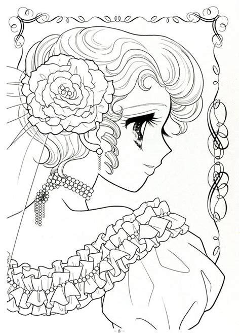 japanese coloring book japanese shoujo coloring book 3 picasa web